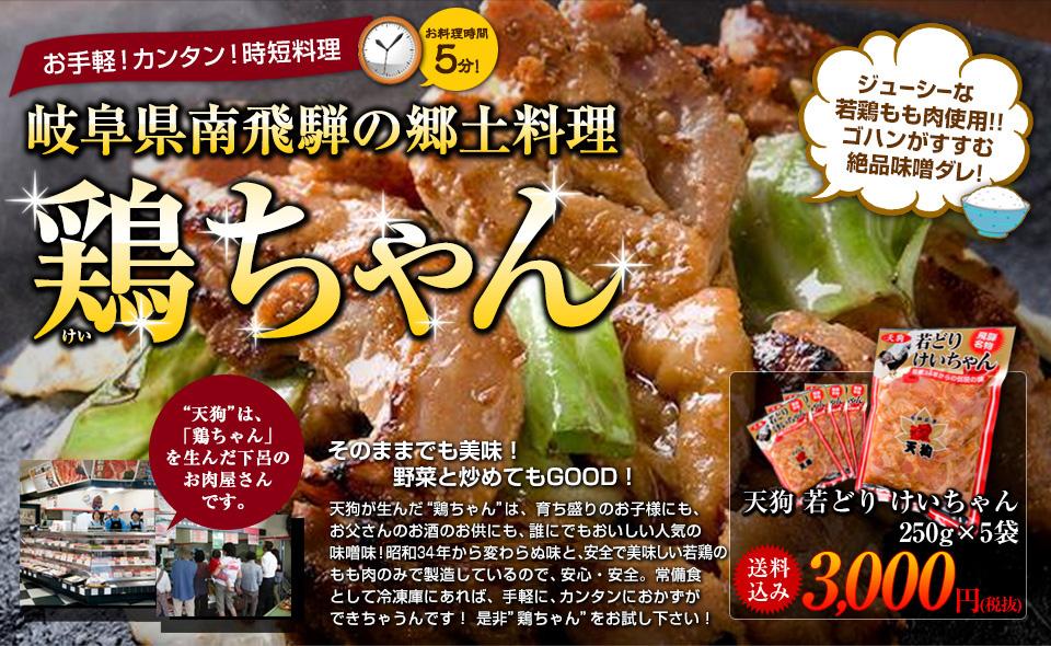 岐阜県南飛騨の郷土料理鶏ちゃん